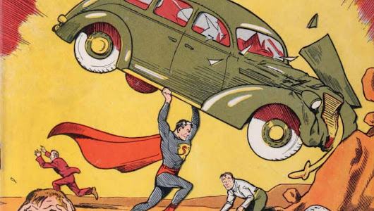 All-Superman auction includes Action Comics #1 and Ben Affleck's Superman suit