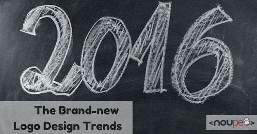 Brand-new Logo Design Trends for 2016 | NOUPE