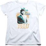 Miami Vice Tubbs - S/S Womens Tee - White T-Shirt