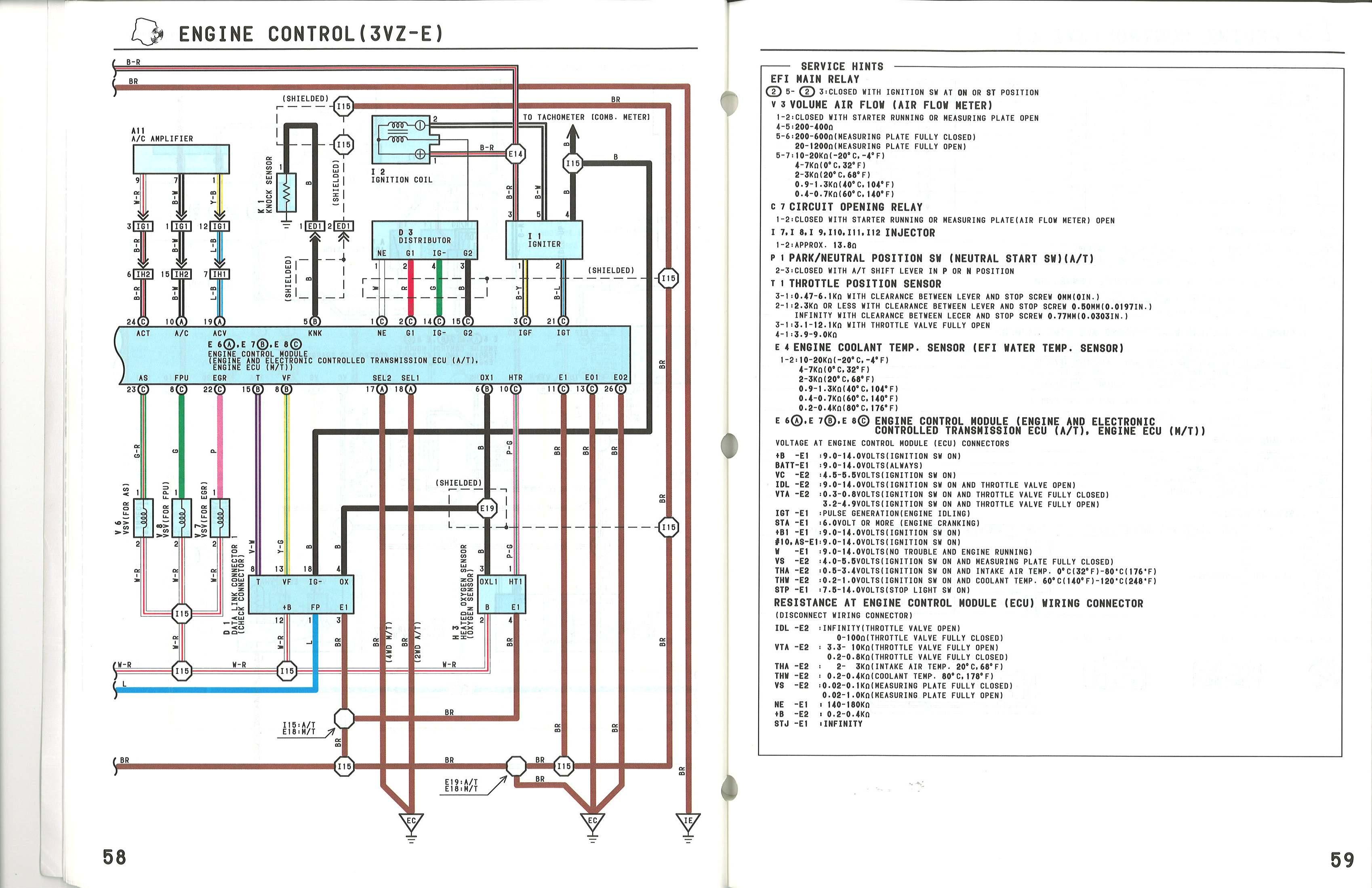 knock sensor wire diagram toyota 4runner knock sensor location  toyota 4runner knock sensor location