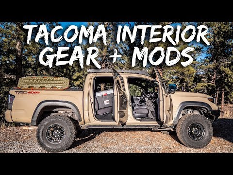 Tacoma Interior MODS and GEAR (Overland, Offroad, Daily Driver)