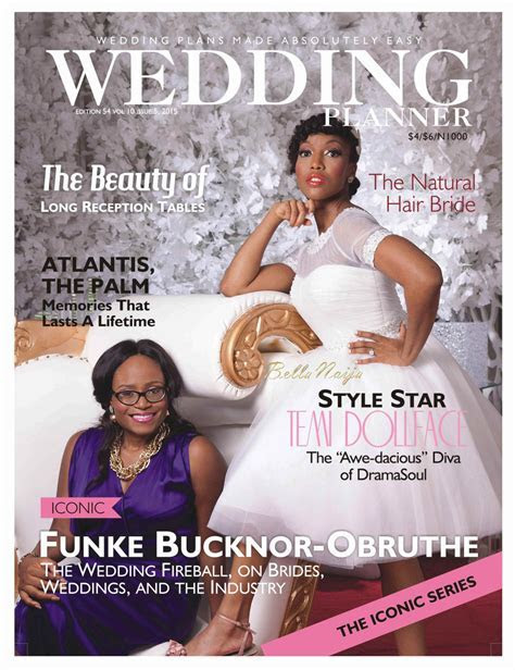 Here Comes the Bride! Temi Dollface Covers Wedding Planner