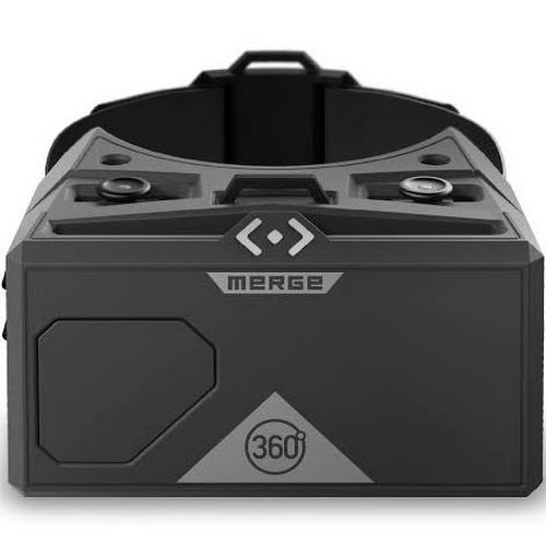 Merge Virtual Reality Headset for Android and iPhone - Moon Gray
