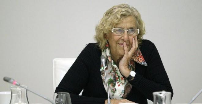La alcaldesa de Madrid, Manuela Carmena. EFE/Archivo