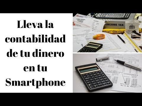 Aplicación para llevar las finanzas en tu teléfono Android y Iphone
