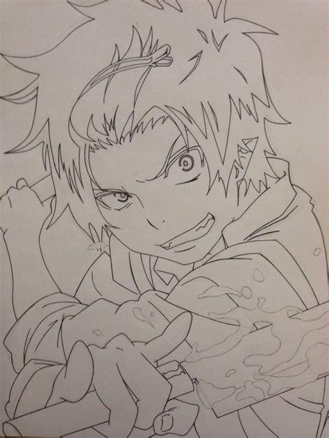 rin okumura drawing  anime amino