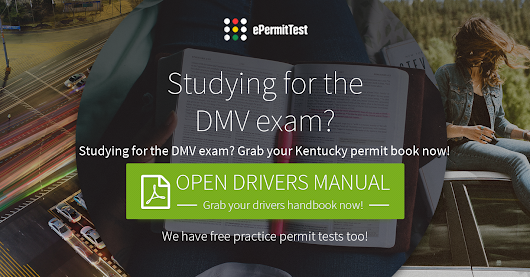 Kentucky Drivers Manual (KY Permit Book) 2017 + FREE TEST