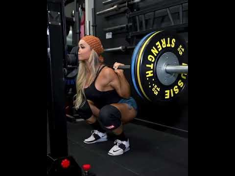 STEPHANIE SANZO LEGS WORKOUT AT GYM #SHORTS PT 1