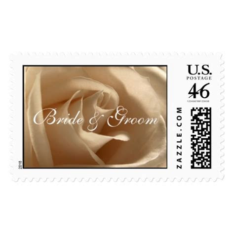 Wedding Invitation Postage Stamp   Zazzle