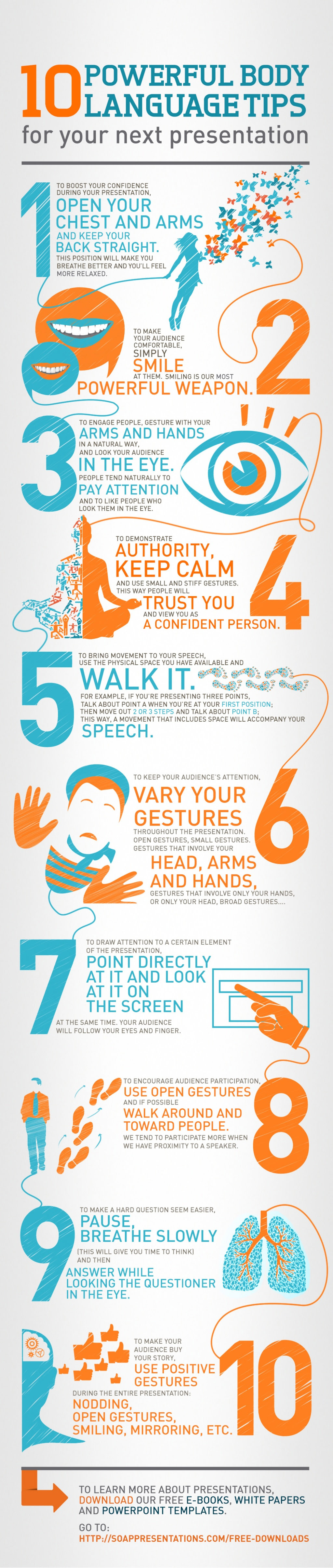 body language tips for presentations