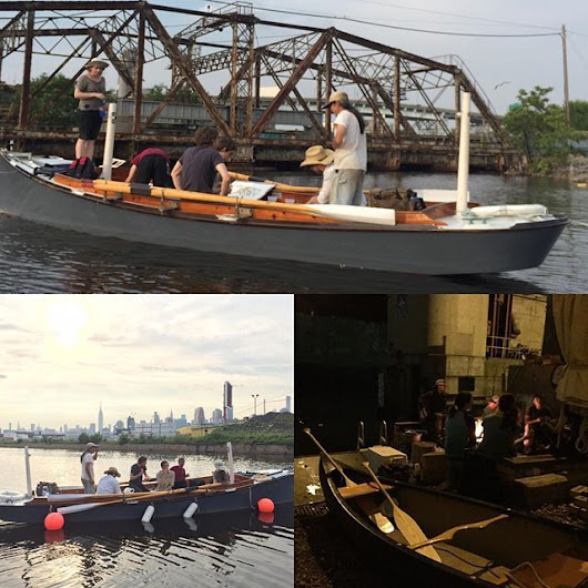 NBBC is an afternoon painting on the creek... | North Brooklyn Boat Club