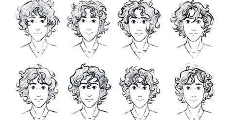 curly hair reference  guys totally