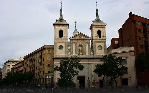 Iglesia de Santa Teresa y Santa Isabel. Glorieta Pintor Sorolla. Madrid