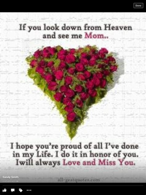 Looking Down On You From Heaven Quotes