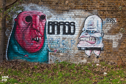 Street Art tour of  Hackney Wick
