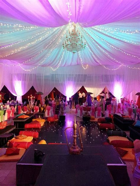 Moroccan theme party decoration   Hall Decorations