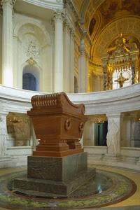 Photo du tombeau de Napoléon Ier