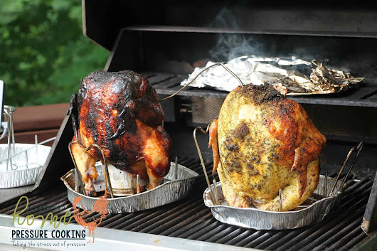 How to make the best beer can chicken on the BBQ - Home Pressure Cooking