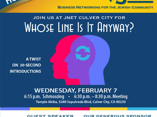 JNET Culver City: Whose Line Is It Anyway?