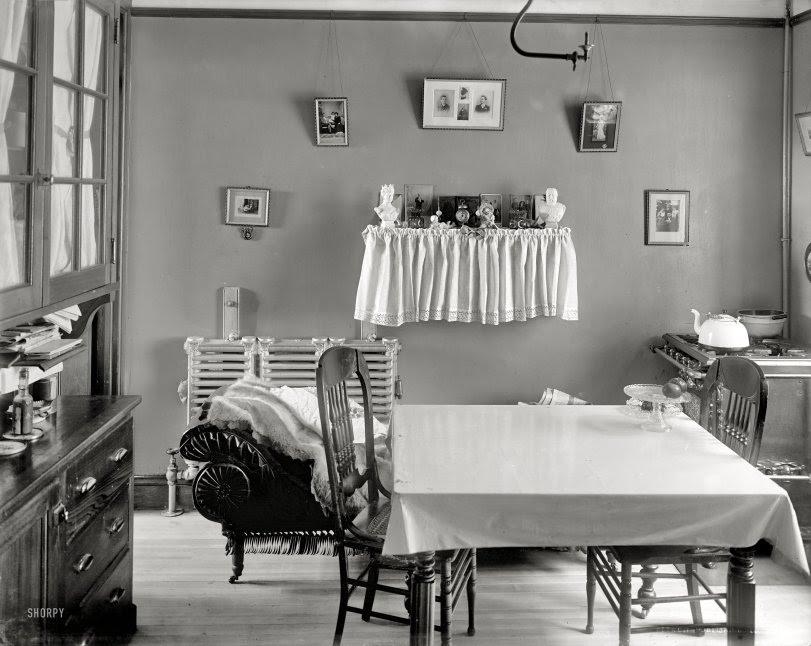 Tenement Kitchen: 1905