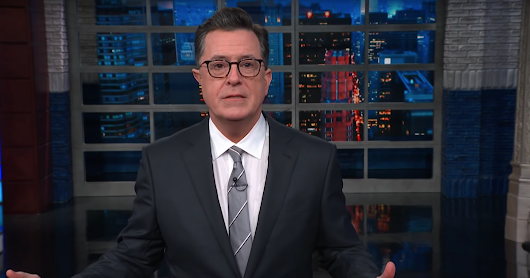Fox News Misses Donald Trump's Holiday Party, Says Colbert