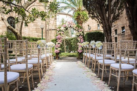 Elegant Outdoor Wedding Ceremony Styling   Divine Events