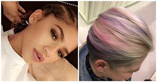 Zendaya Just Casually Gave Her Mom UNICORN Hair
