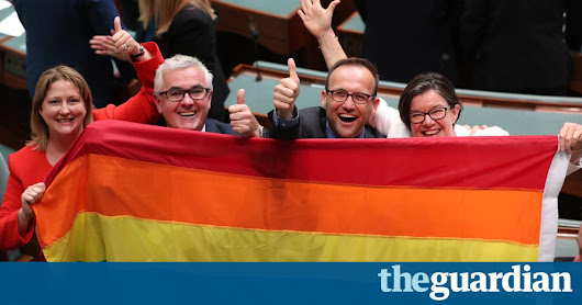 Marriage equality law passes Australia's parliament in landslide vote | Australia news | The Guardian