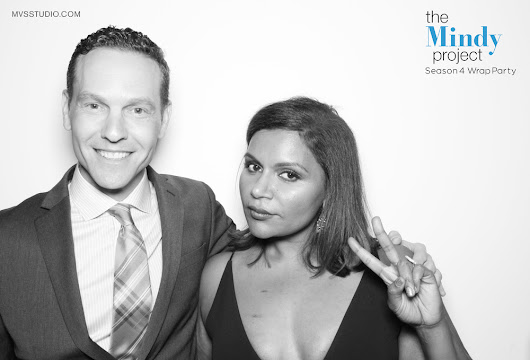 Mindy Project Photo Booth