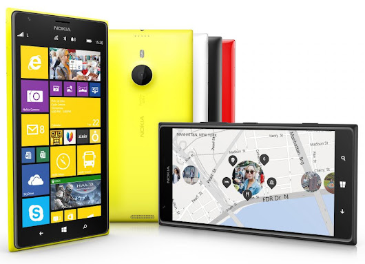 Nokia announces the Lumia 1520 with 6-inch 1080p display and 20 MP PureView camera.