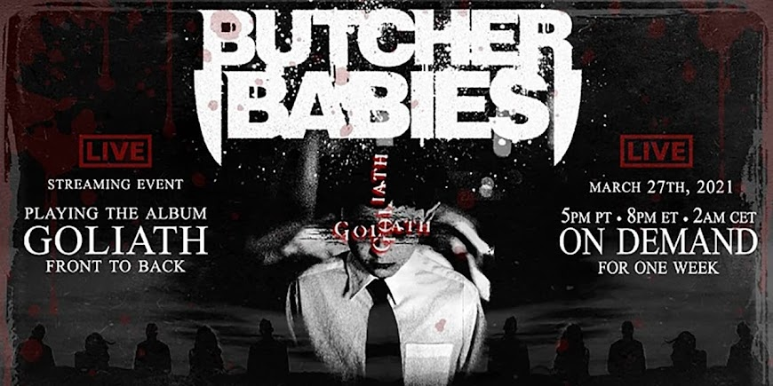 Goliath - Live Streaming Event by Butcher Babies (2021) English Full Movie Watch Online