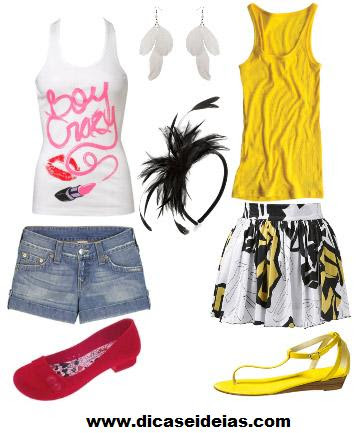 roupas carnaval