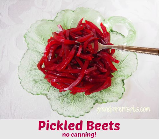 Pickled Beets (no canning)
