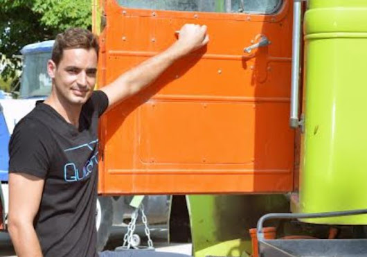 Israeli entrepreneur filling up the space with shipping app