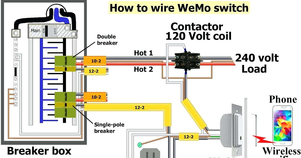 240 Volt Heater And Thermostat Wiring | schematic and ...
