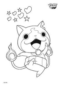 Coloriages Yo Kai Watch à Imprimer Coloriages Dessins Animes