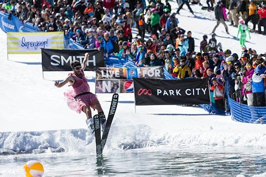 Annual Pond Skimming Competition