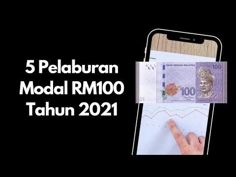 5 Pelaburan Patuh Shariah Modal RM100