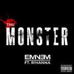 Eminem ft. Rihanna - The Monster Artwork
