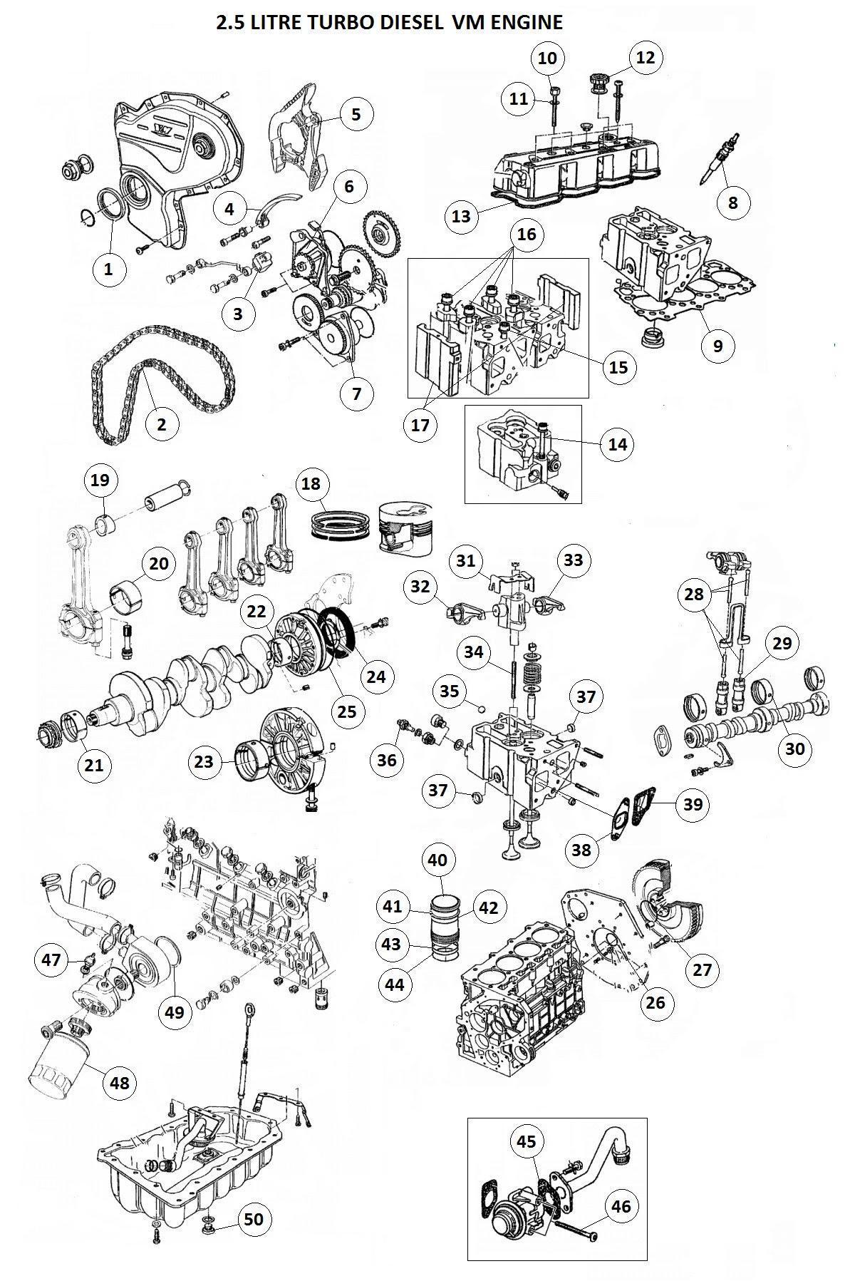 96 jeep cherokee 5 2 engine diagram