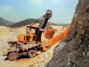 Рудник Медет през 60-те - мед, сребро и злато