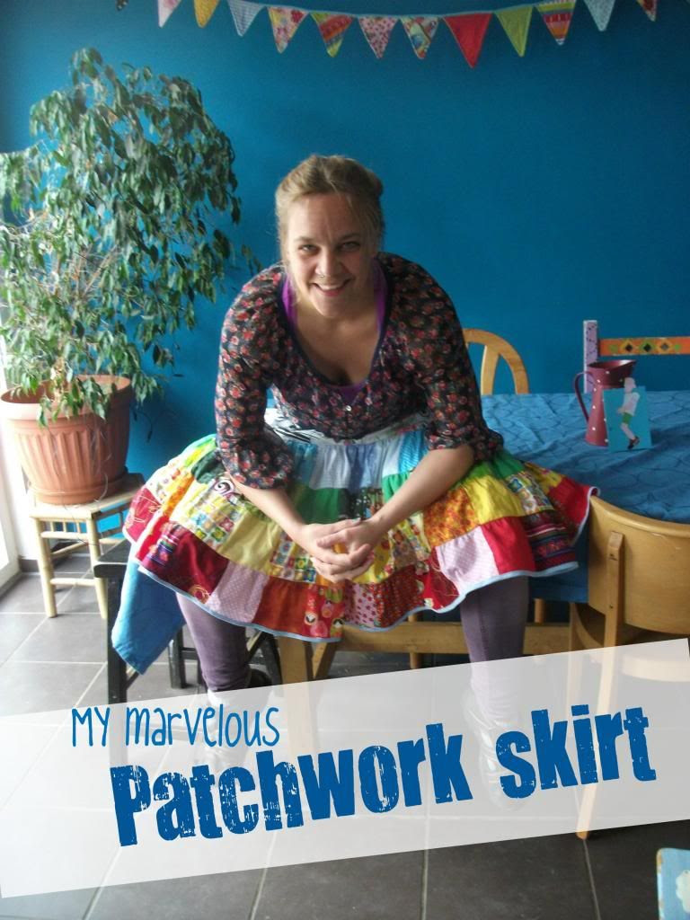 Patchwork skirt
