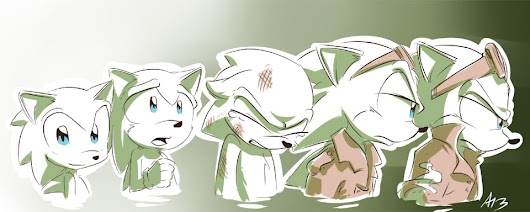 Scourge's Evolution by AllesiaTheHedge on deviantART