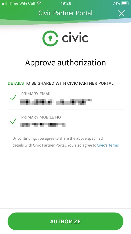 Technical Review of Civic's Secure Identity Platform