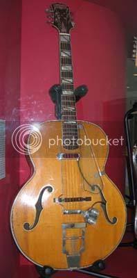 The original james Bond theme guitar