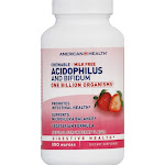 American Health Acidophilus and Bifidus Chewable Wafers - 100 count
