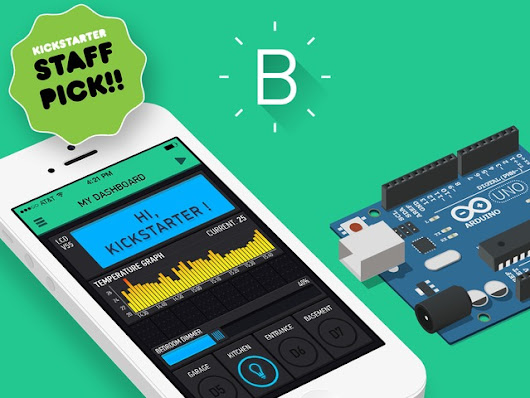 Blynk - build an app for your Arduino project in 5 minutes