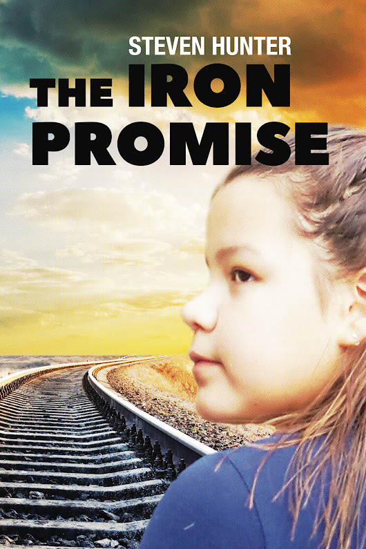 """The Iron Promise"" by Steven Hunter - SpicaBookDesign"
