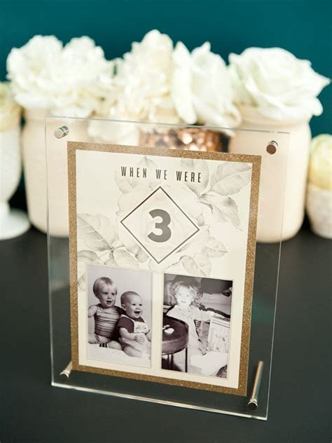 The Best DIY Wedding Table Numbers Ever! MUST SEE