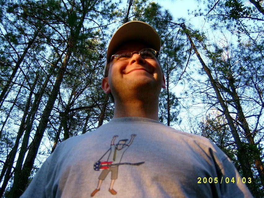 Matt in woods